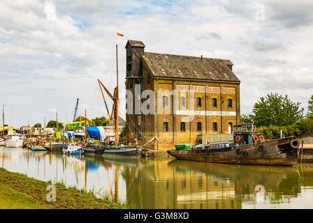 Oyster Bay House, Chambers Wharf, Faversham, England, United Kingdom - Stock Photo