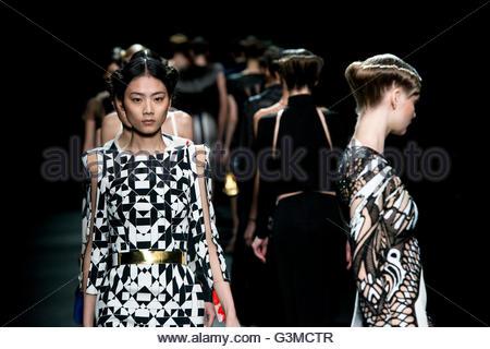 Milan,Fashion week,Mario Dice - Stock Photo
