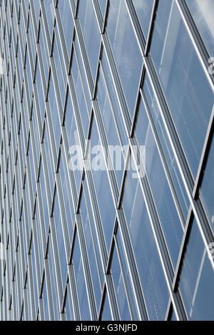 Facade of a high-rise building - Stock Photo