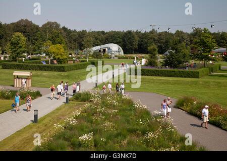 Garden show site, Floriade 2012, Horticultural World Expo, Venlo, Limburg, Netherlands, Europe - Stock Photo