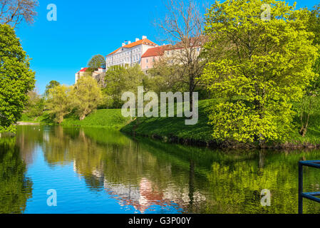 Toompark. Tallinn, Estonia, EU - Stock Photo