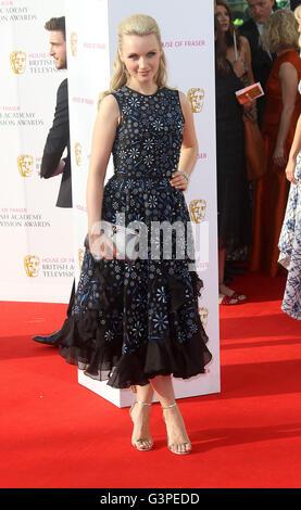 May 8, 2016 - Emily Berrington attending BAFTA TV Awards 2016 at Royal Festival Hall in London, UK. - Stock Photo