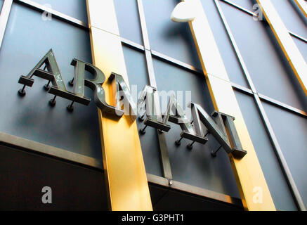 TOKYO - MAY, 2016: Luxury shopping district Ginza on May 28, 2016 - Stock Photo