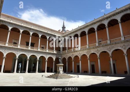 The Alcazar of Toledo Spanish Army Museum - Stock Photo
