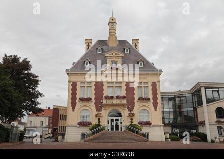 Loos town hall, Loos, Pas de Calais, France. - Stock Photo