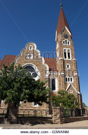 The Christ Church in Windhoek, Namibia - Stock Photo