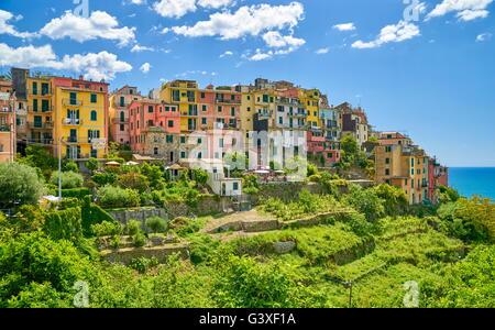 Croniglia, Riviera de Levanto, Cinque Terre, Liguria, Italy - Stock Photo