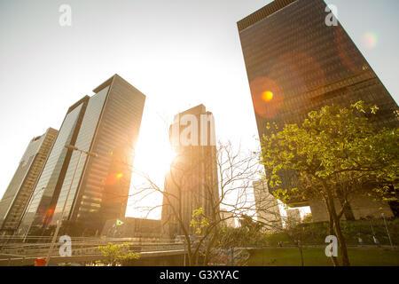 Beijing, China. 26th Aug, 2015. This file photo shows view of downtown Rio de Janeiro, Brazil on Aug. 26, 2015. - Stock Photo
