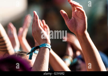 Barcelona, Catalonia, Spain. 16th June, Sónar2016. Credit:  Cisco Pelay /Alamy Live News - Stock Photo