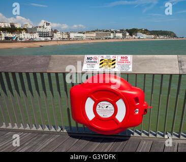 Hasting pier lifesaver.
