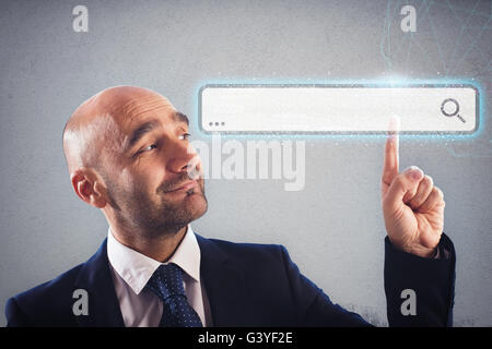 Easy search on the web - Stock Photo