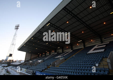 Soccer - Scottish Cup Fourth Round - Dundee v Motherwell - Dens Park - Stock Photo