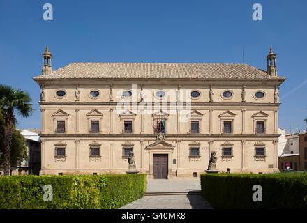 Palacio de las Cardenas, Town Hall, Plaza Vazquez Molina, Ubeda, Andalusia, Spain, Europe - Stock Photo