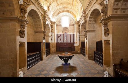 Sacra Capilla del Salvador, Ubeda, Andalusia, Spain, Europe - Stock Photo
