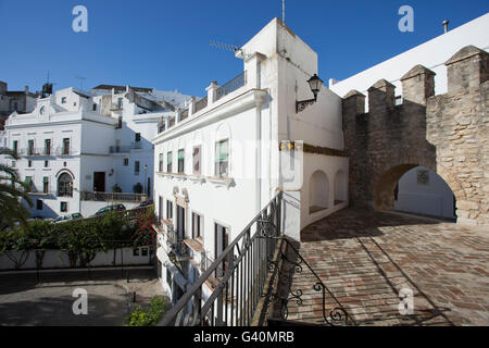 Vejer de la Frontera, Pueblo Blanco, Costa de la Luz, Andalusia, Spain, Europe - Stock Photo