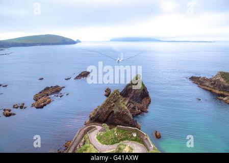 Dunquin, Dingle Peninsula, County Kerry, Ireland - Stock Photo