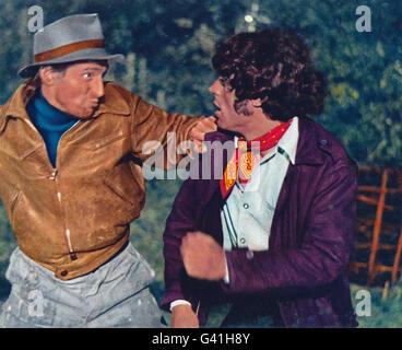 Sky West And Crooked, aka: Gypsy Girl, Großbritannien 1965, Regie: John Mills, Darsteller: Ian McShane (rechts) - Stock Photo