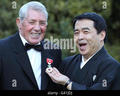 Judo expert awarded honour from Japan - Stock Photo