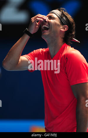 Tennis - 2011 Australian Open - Qualifying Day - Melbourne Park - Stock Photo