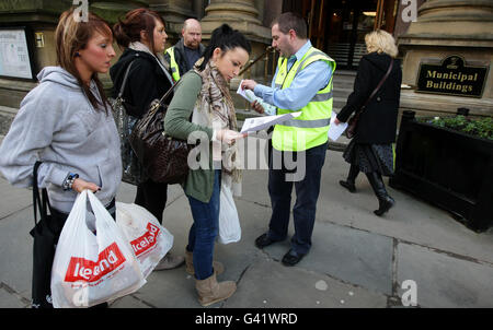 Liverpool City Council job cuts - Stock Photo