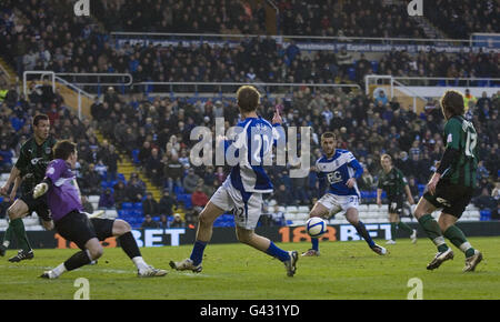 Soccer - FA Cup - Fourth Round - Birmingham v Coventry - Stock Photo