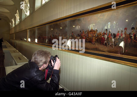 Royal Painting/120ft - Stock Photo