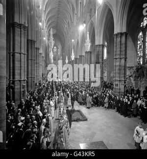 Royalty - 900th Anniversary of Westminster Abbey - London