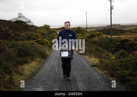 Irish General Election - Stock Photo