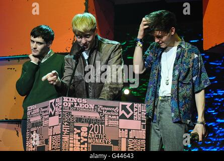 NME Awards 2011 - Show - London - Stock Photo