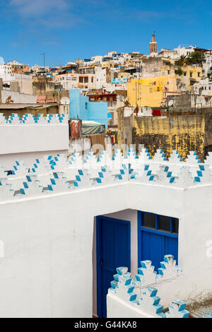 Medina, old city Tangier. Morocco Africa - Stock Photo