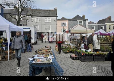 Stock - Totnes - Devon - Stock Photo