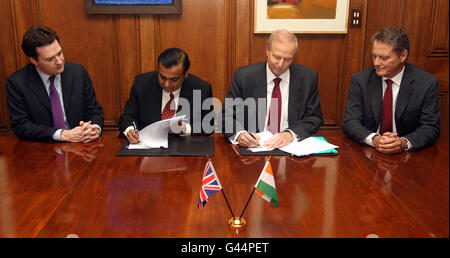 BP in deal with major Indian firm - Stock Photo