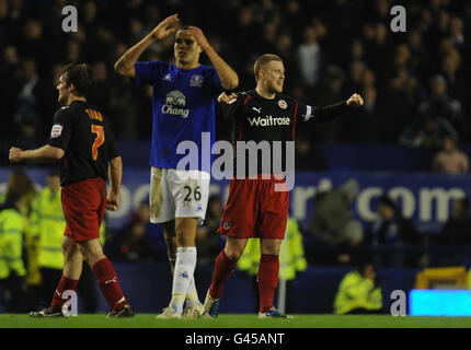 Soccer - FA Cup - Fifth Round - Everton v Reading - Goodison Park - Stock Photo