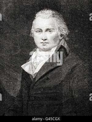 William Cobbett, 1763 – 1835.  English pamphleteer, farmer and journalist. - Stock Photo