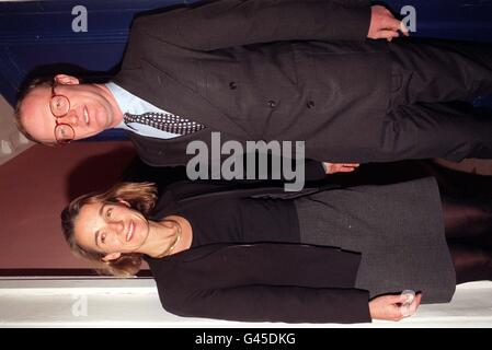 David Willetts with his wife Sarah pictured outside his London home this evening (Wed) hours after resigning as Paymaster General. Willetts quit office within minutes of publication of a report which accused him of dissembling - a word which can mean concealing or being insincere - before a Commons committee.