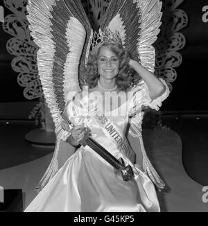 Beauty Contests - Miss UK - Brighton - Stock Photo