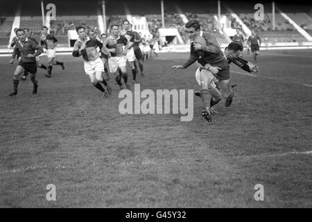 Rugby Union - Harlequins v U.S Portsmouth - White City Stadium, London - Stock Photo