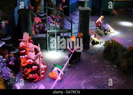 New Legoland Atlantis ride - Stock Photo