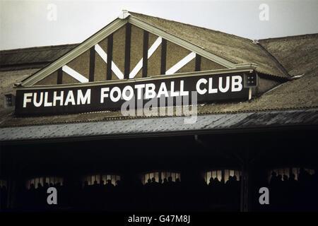 Soccer - League Division Two - Fulham - Craven Cottage - Stock Photo
