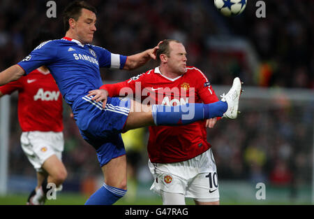 Soccer - UEFA Champions League - Quarter Final - Second Leg - Manchester United v Chelsea - Old Trafford - Stock Photo