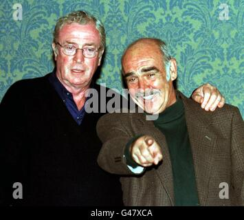 Edinburgh/Caine & Connery - Stock Photo