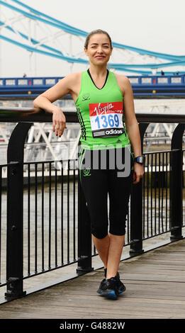 Athletics - 2011 Virgin London Marathon - The Tower Hotel - Stock Photo