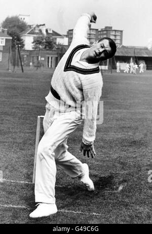 Cricket - Australia in British Isles - Training - Stock Photo