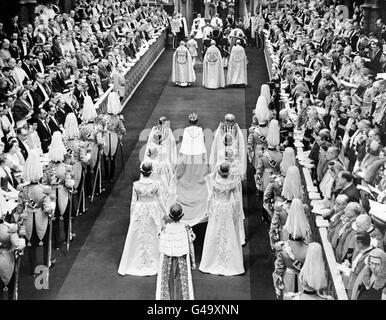 Royalty - Coronation of Queen Elizabeth II - London