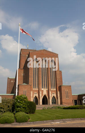 Guildford Cathedral, Guildford, Surrey, England, United Kingdom, Europe - Stock Photo