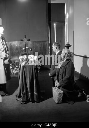 Crime - Countess Teresa Lubienska Funeral - Brompton Oratory, London - Stock Photo