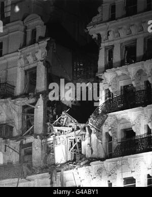Brghton bombing file 1 - Stock Photo