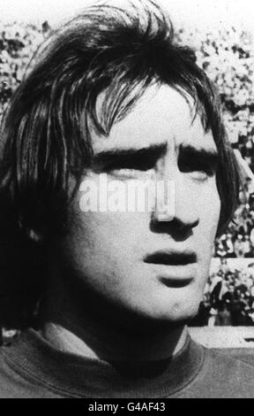 PA NEWS PHOTO 15/11/76  FRANCESCO GRAZIANI  MEMBER OF THE ITALIAN WORLD CUP SQUAD FOR WEDNESDAY'S VITAL QUALIFYING - Stock Photo