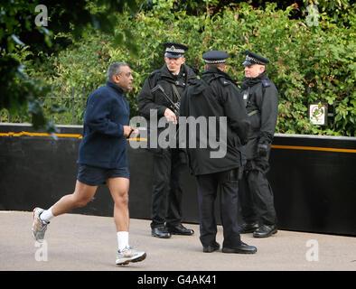 President Obama state visit to UK- Day One - Stock Photo
