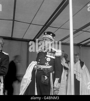Royalty - Coronation of Queen Elizabeth II - London - Stock Photo